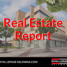 Royal LePage Kelowna Real Estate Report for November 2019